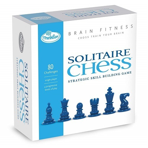 Think Fun Brain Fitness Solitaire Chess Game
